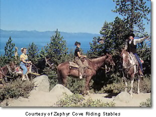 Zephyr Cove Riding Stables